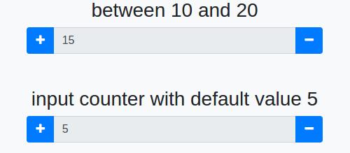 input-spinner