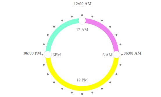 Vue js Circular Time Range Picker - 𝖎𝖆𝖒𝖗𝖔𝖍𝖎𝖙 𝖎𝖓