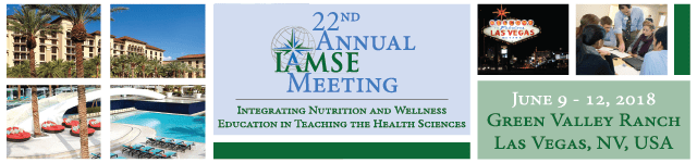 22nd Annual IAMSE Meeting