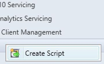 sccm create script run scripts feature
