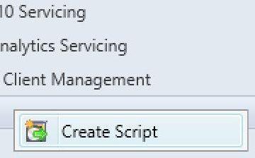 sccm create script run scripts feature
