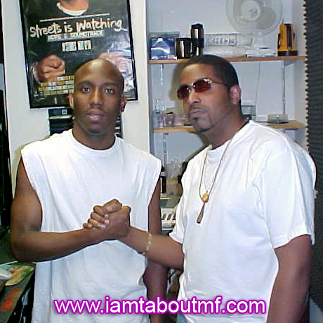 Throwback Thursday - Bayo and Tabou TMF aka Undefinable One chilling in the Studio