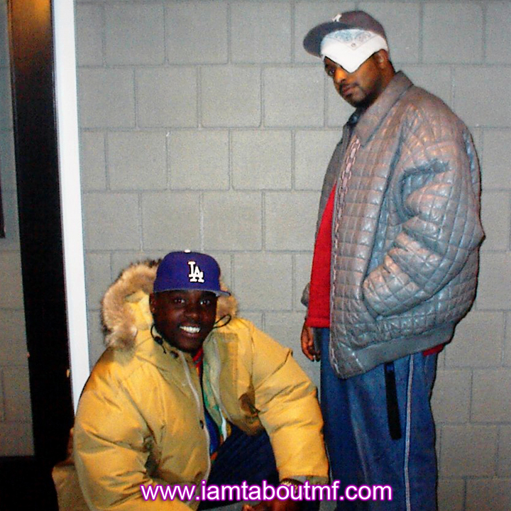 Tabou TMF aka Undefinable One Throwback Thursday Photo - Chilling at the Radio Station in New York after hosting and producing one of our live broadcasts