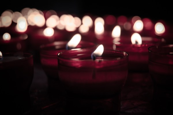 LIght candles for mood