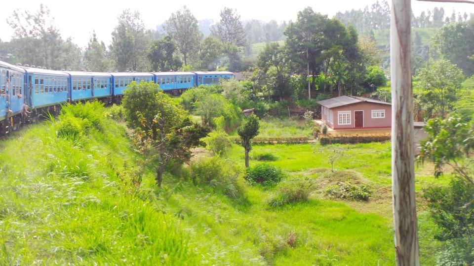 Een van de stops tijdens de wereldberoemde treinreis
