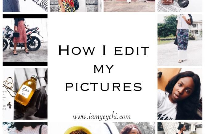 how i edit