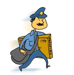 Mailman - disposal by post
