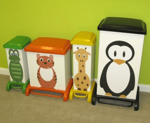 New designs for hospital waste bins