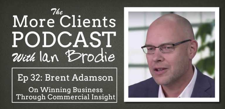 Brent Adamson on Winning Business with Commercial Insight