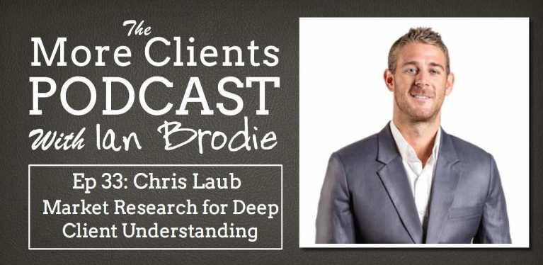 Chris Laub on Market Research