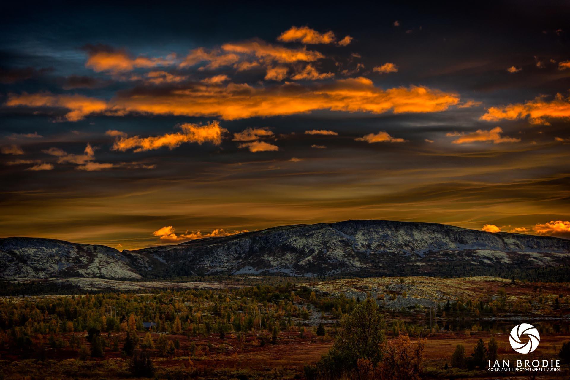 Sunset Rondane.