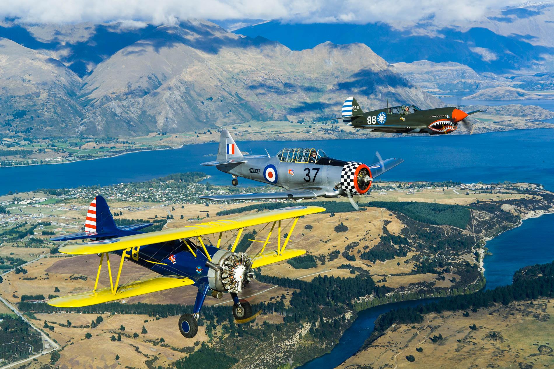 Aeronautica, Air to Air, New Zealand Aotearoa