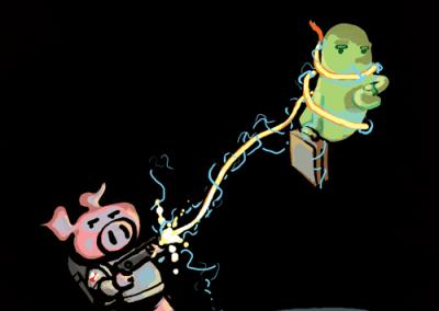 Ghostbusters ala Oink