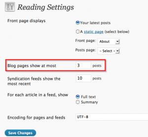readingsettings