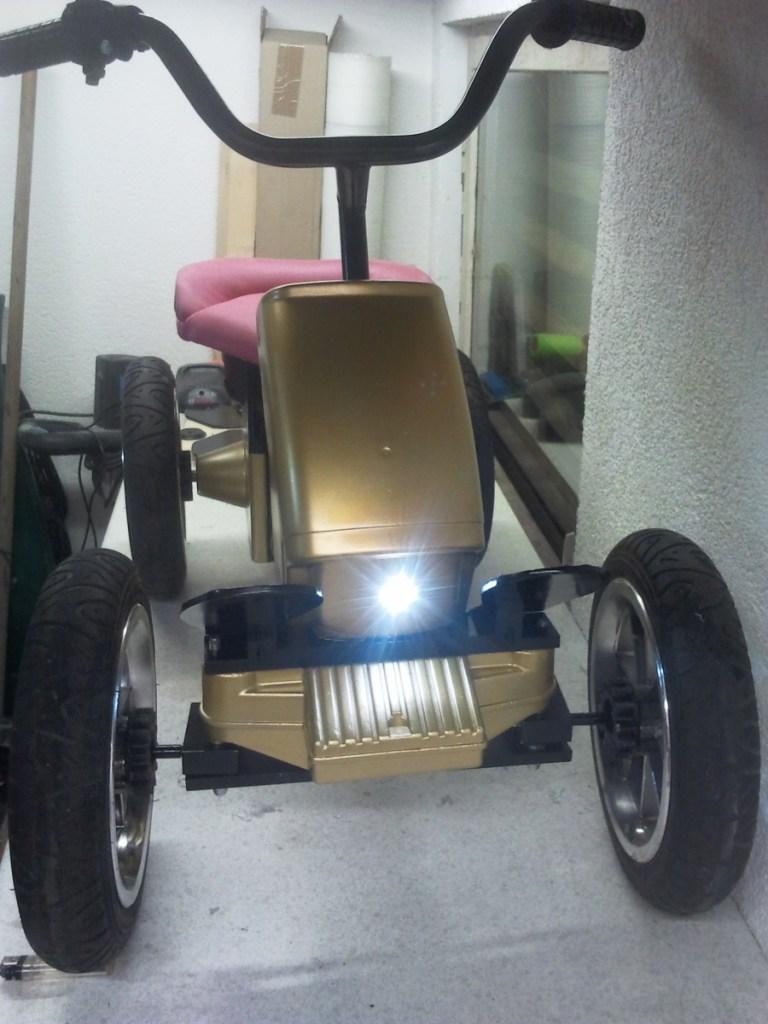 Akkuschrauberrenner -Akkuschrauberrennen