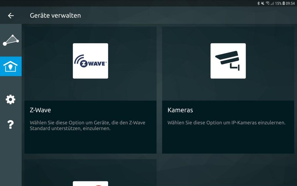 Technisat App Rollladensteuerung