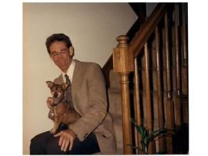 Bindi the lap dog (click to enlarge).