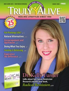 Truly Alive magazine (click to read full interview with Dr Turner).