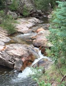 The stream called El Porvenir (click to enlarge, then back-arrow to return to blog).