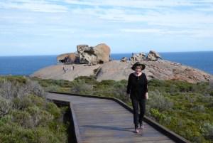 Remarkable Rocks in Flinders Chase National Park (photo courtesy Clive Palmer).
