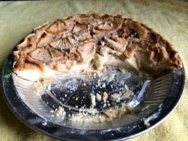 Photo of an Apple cream pie