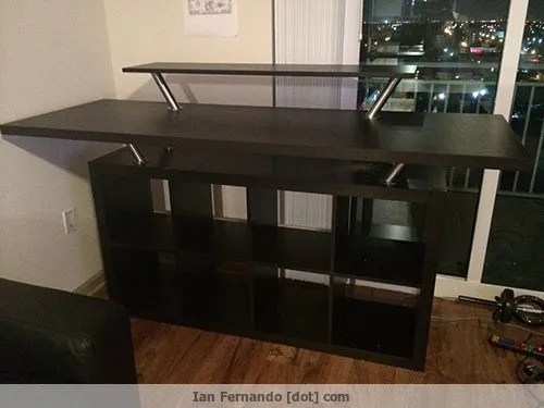 standing-ikea-desk-hack