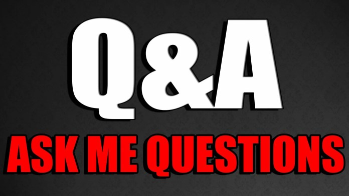 Ask Me Any Entrepreneur Questions You May Have: March 14-18th