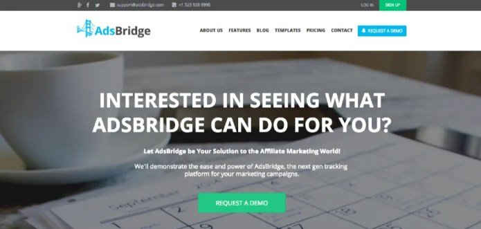 AdBridge Tracking Platform, a Full Scope of Features