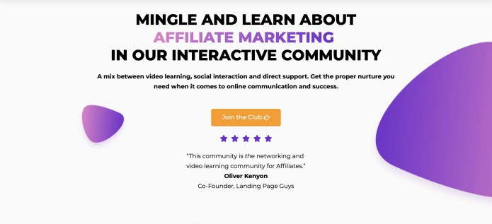 Affiliate Business Club, a Marketing Community that takes Integrated Information to a New Level