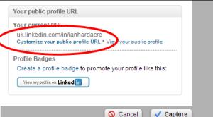 LinkedIN Settings 2