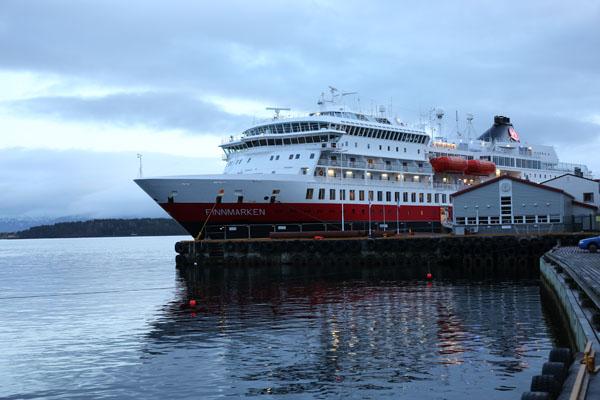MS Finnmarken in Molde