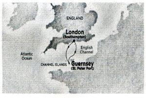 Emerald Princess Guernsey April 2016