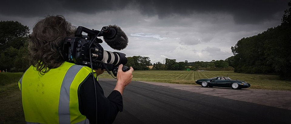 20160809_114829_024_01, Me filming Neville Swales' Jaguar XJ13 recreation