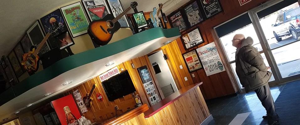 Surf Ballroom bar
