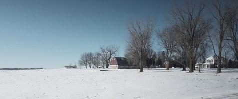 A very cinematic rural scene