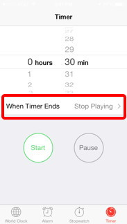 When Timer Ends
