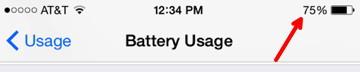 Battery Percentage