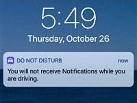 Do Not Disturb Alert