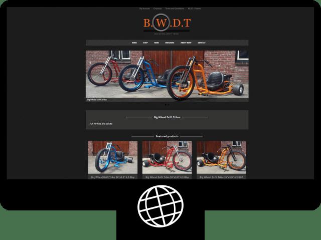 Big Wheel Drift Trike – webshop