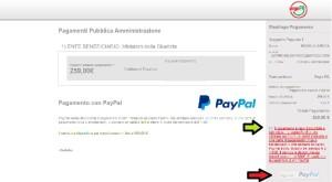 Come pagare con PAYPAL il contributo unificato on line