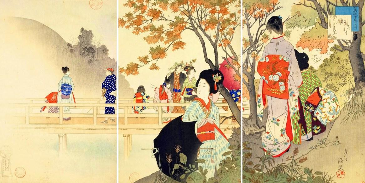 «Οκτώβριος» του Μιγιαγκάουα Σουντέι (1873-1914)