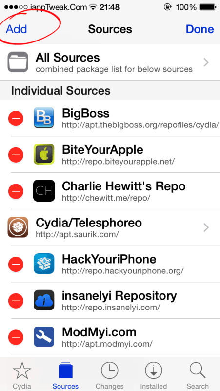 cydia sources 2015