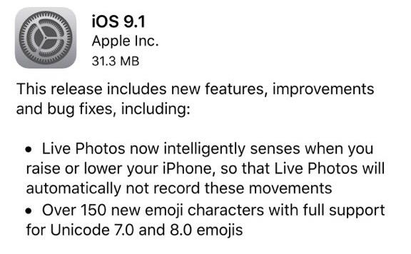 iOS-9.1-Apple-release-iapptweak