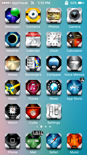 Hiro iOS9_iOS93-iPhone_Top_themes_iapptweak
