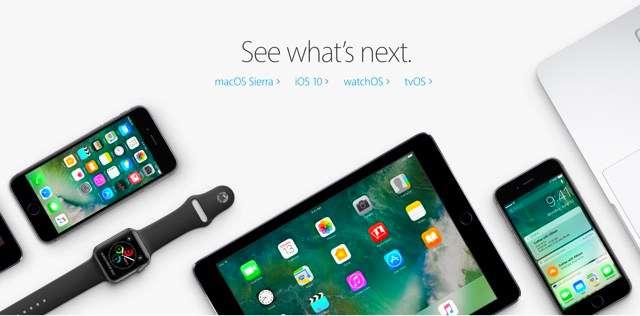 iOS10-betas-Apple