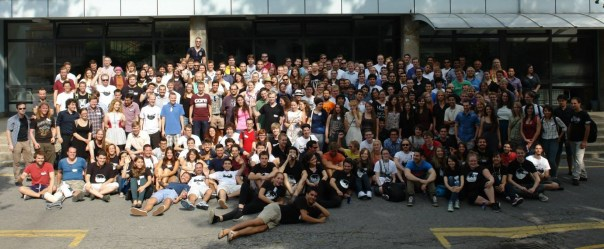 The participants at the International Conference of Physics Students 2015 in Zagreb.