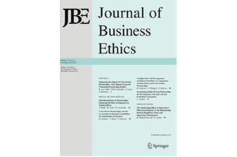 "Call for Papers: Special Issue ""The Ethics of the Commons"", Journal of the Business Ethics, submission deadline 15 December 2018"