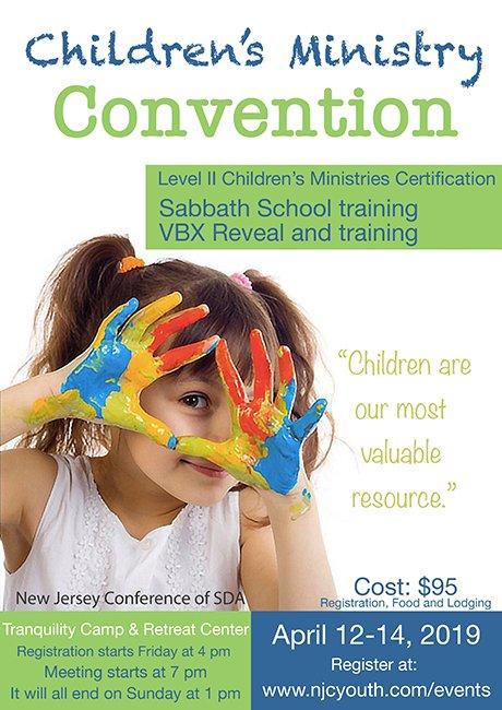 2019 Convención de Ministerio Infantil