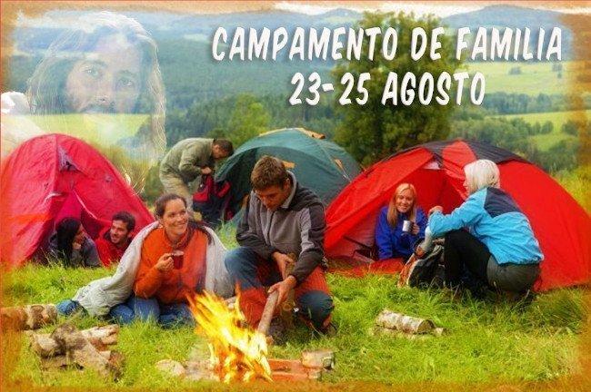 Campamento de familia