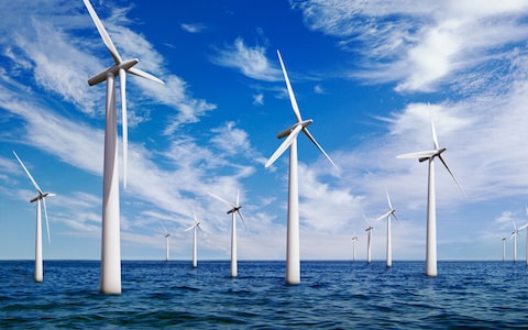 Offshore wind power in India